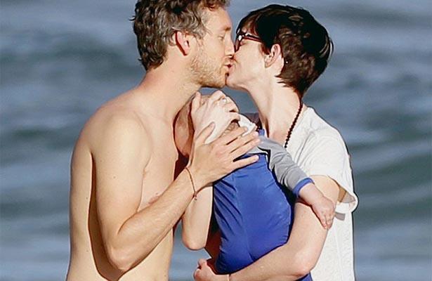 Así luce el bebé de Anne Hathaway en su primera foto