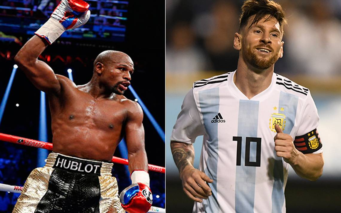 Mayweather y Messi los deportistas mejor pagados según Forbes