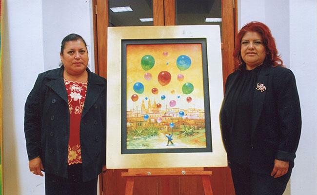 Emotivo homenaje luctuoso al artista Luis Morán