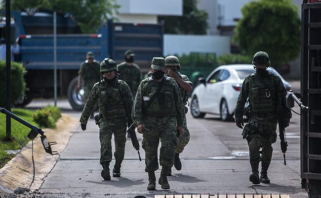 Detienen a implicado en emboscada contra militares en Culiacán