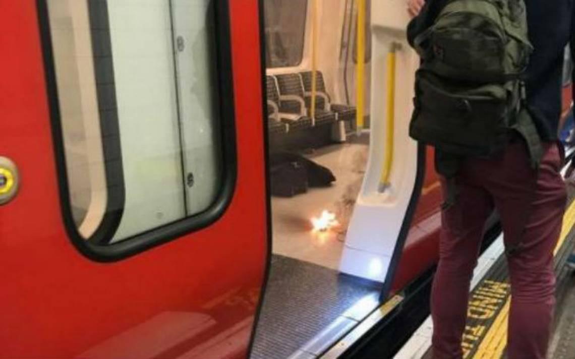 Explosión en Metro de Londres genera caos
