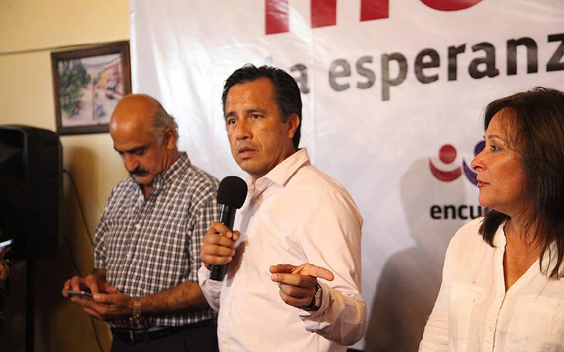 PREP termina en Veracruz; Cuitláhuac García aventaja conteo