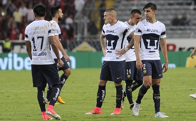 Pumas sufrió su primera caída del Torneo