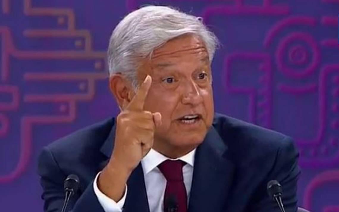 López Obrador deja los chistes en tercer debate presidencial