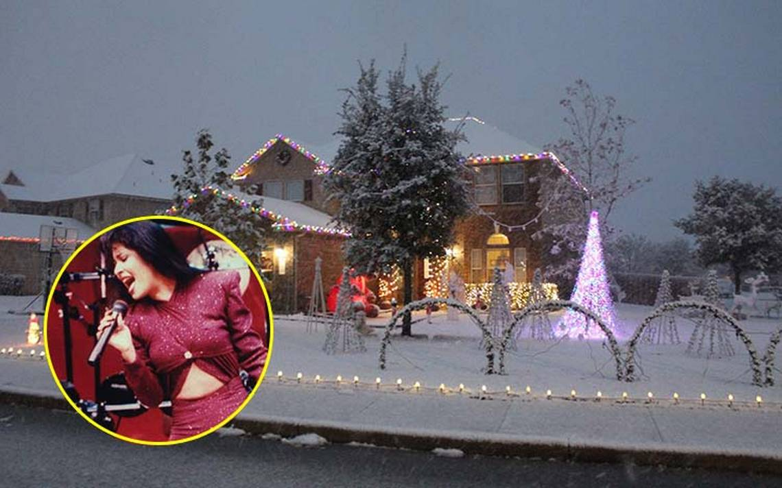 Estas luces de navidad 'bailan' al ritmo de Bidi Bidi Bom Bom