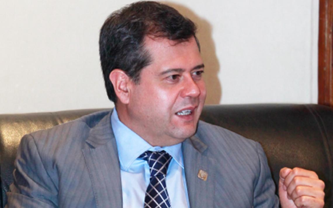 Amieva asegura que derrumbe de plaza Artz Pedregal fue por error humano