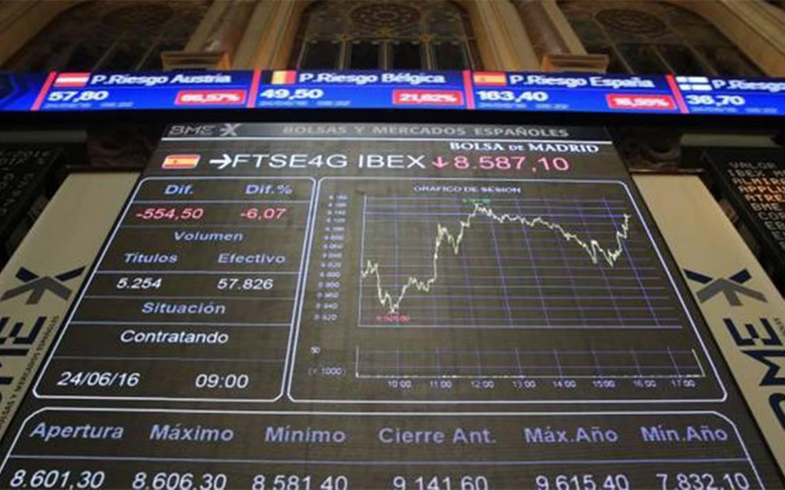 Bolsa española cae el 1.45 % tras declaración de independencia en Cataluña
