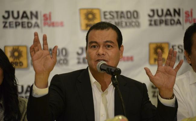 Busca frente amplio concretar gobierno de coalición, dice Juan Zepeda