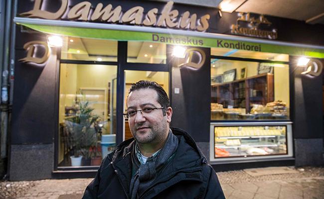 Aromas de Damasco llegan a Berlín en  forma de ricos pasteles