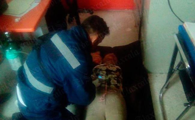Papás golpean a directora de telesecundaria en Tlaxcala