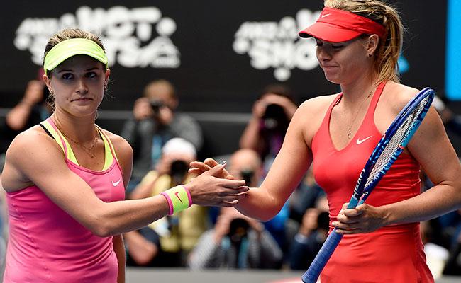 Sharapova es una tramposa; no debería jugar: Bouchard