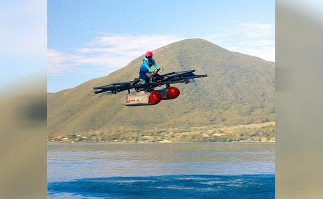 """Manda """"a volar"""" tu moto con esta innovación vehicular"""