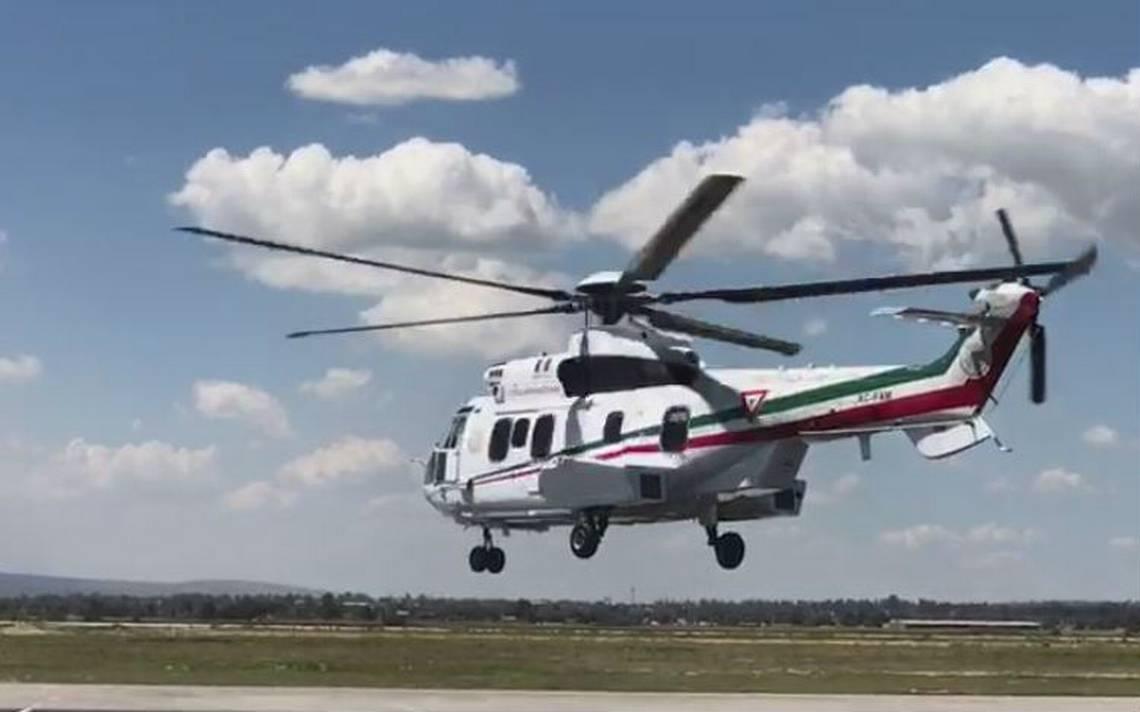 Peña Nieto sobrevuela el Valle de México tras sismo