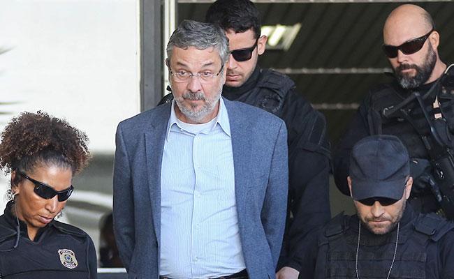 Justicia de Brasil condena con 12 años de cárcel a exministro de Lula da Silva