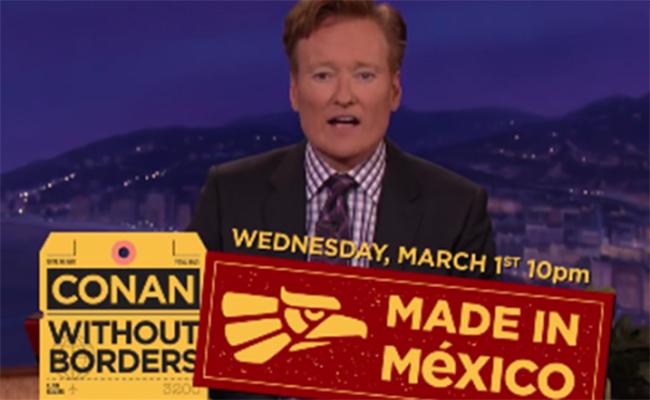 Conan O'Brien transmitirá programa especial desde México