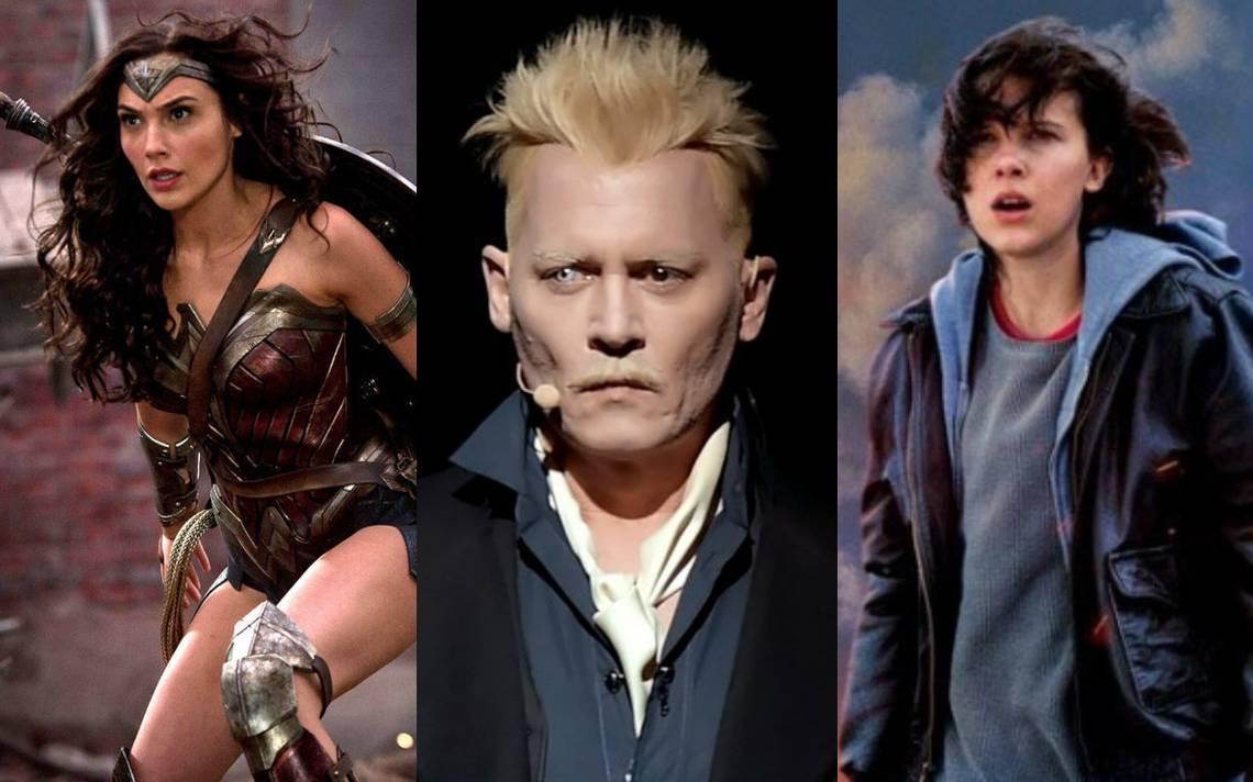 Wonder Woman 1984, Animales Fantásticos 2 y Godzilla sorprenden en la Comic Con 2018