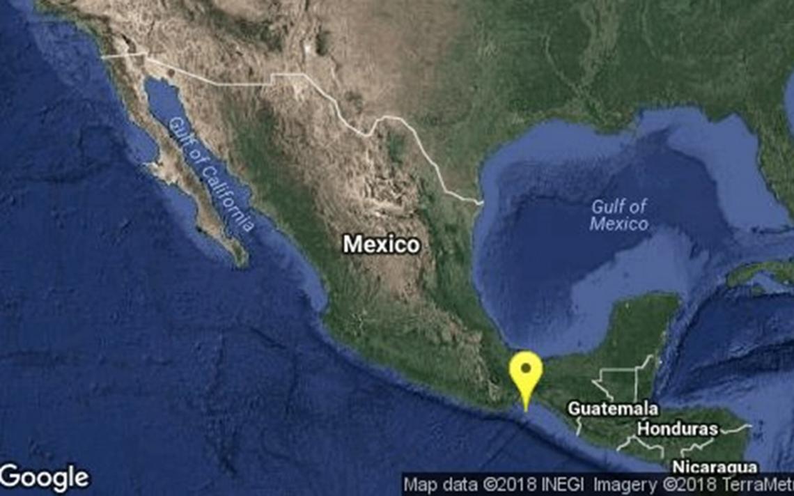 Sismológico ajusta a 4.7 grados sismo en Salina Cruz, Oaxaca