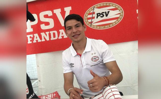 "Hirving ""Chucky"" Lozano debuta en la derrota del PSV"