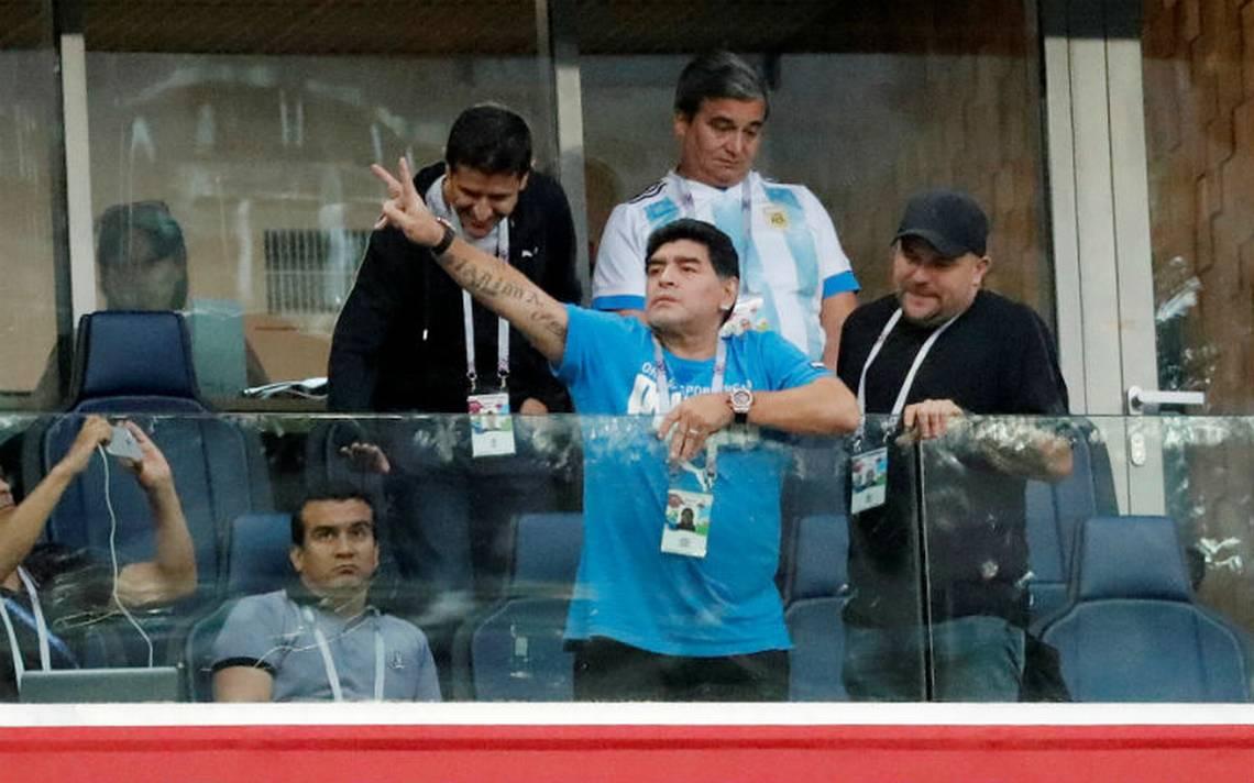 Maradona desmiente rumores sobre su estado de salud