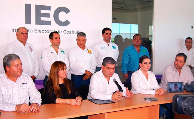 Vamos todos por un proyecto único que es Coahuila: Riquelme
