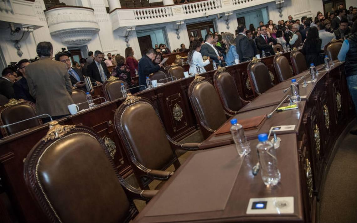 En manos de la ALDF un periodo extraordinario: Amieva