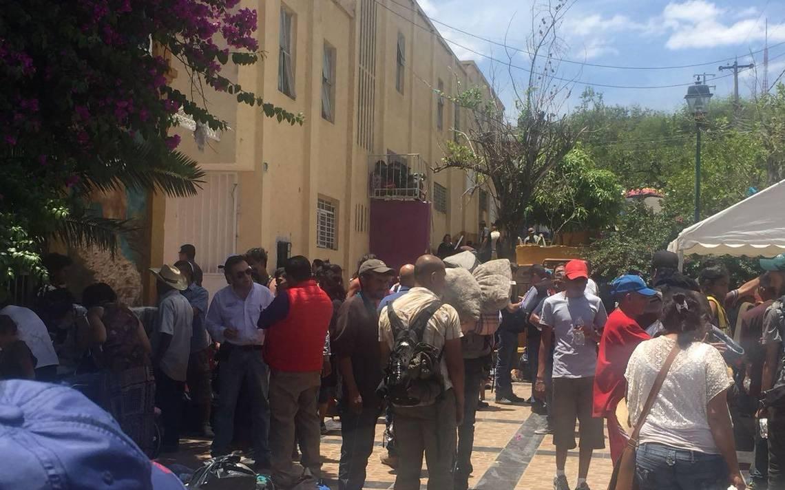 Médicos recibe contingente de 600 integrantes de la Caravana de Migrantes en Jalisco