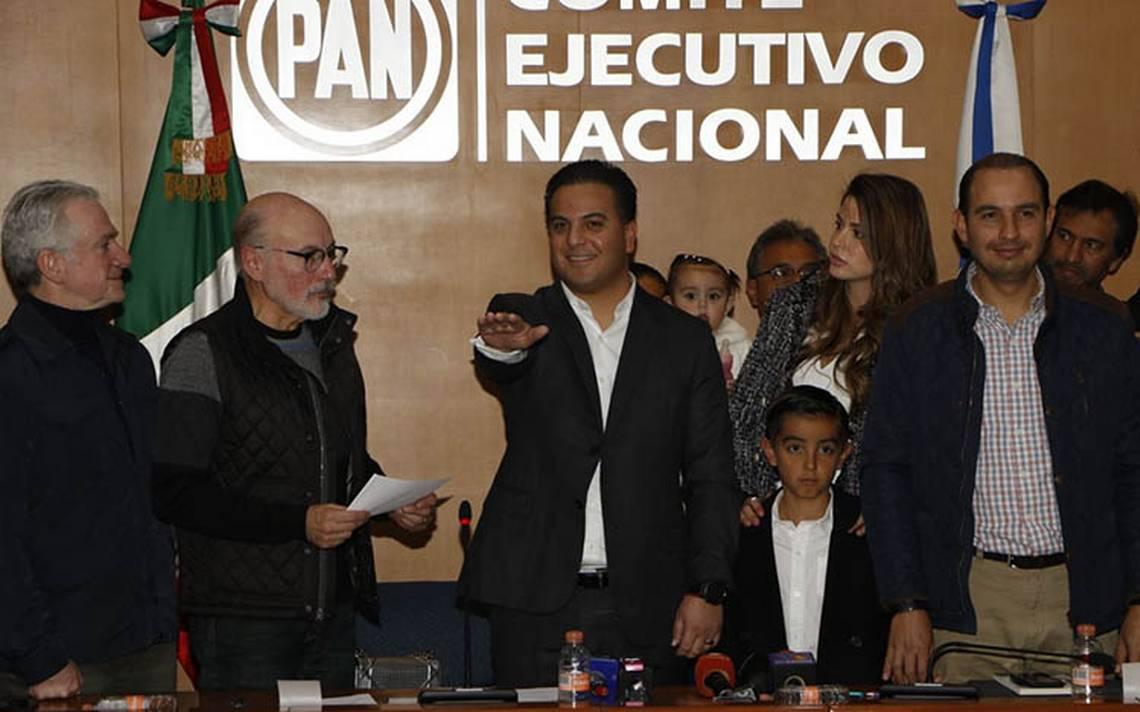 Damián Zepeda asume dirigencia de Acción Nacional