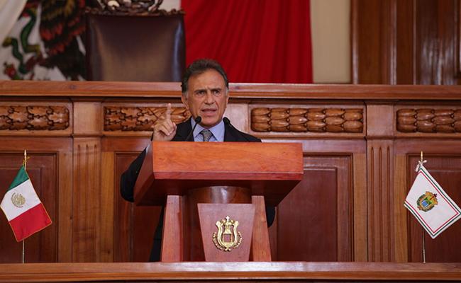Elecciones municipales en Veracruz fueron históricas: Yunes Linares