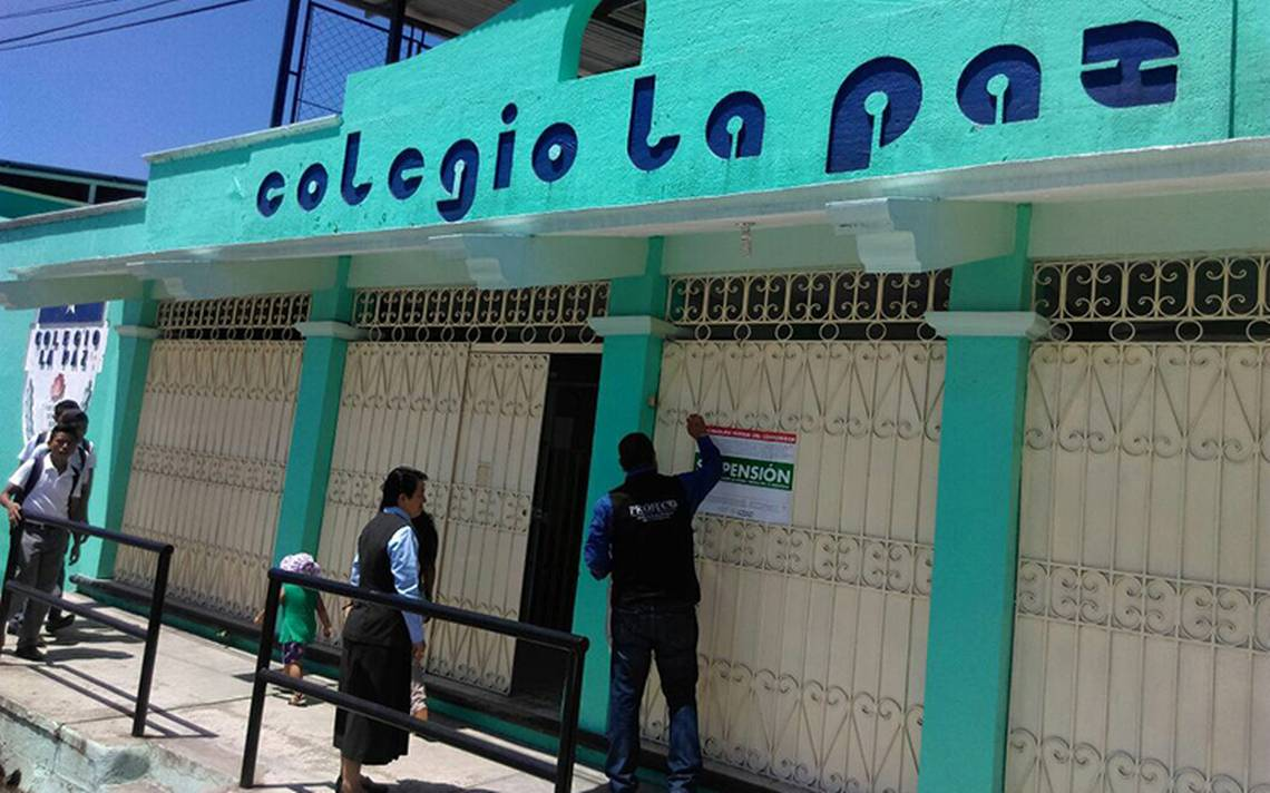 Sanciona Profeco a escuelas privadas en Tapachula