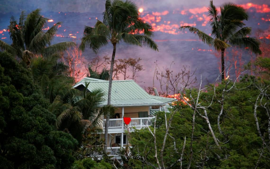Volcán Kilauea deja su primer herido por salpicadura de lava en Hawai