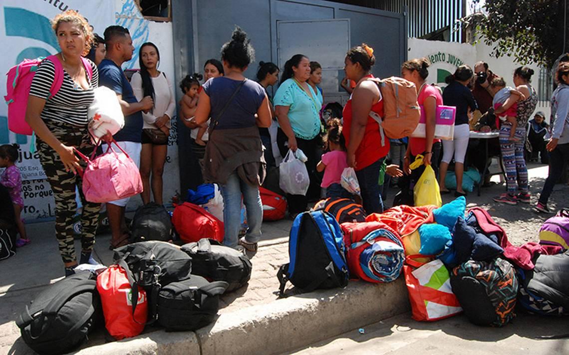 Centroamericanos comenzarA?n con la solicitud de asilo polAi??tico a Estados Unidos