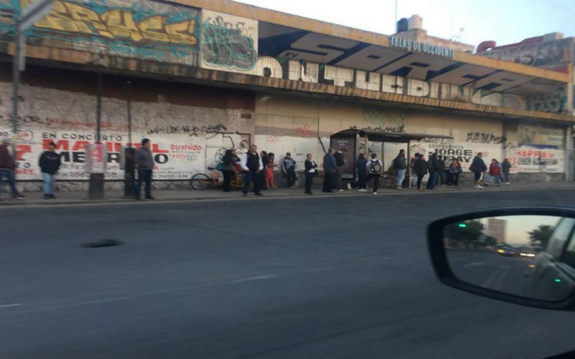 Estalla paro camionero en Guadalajara