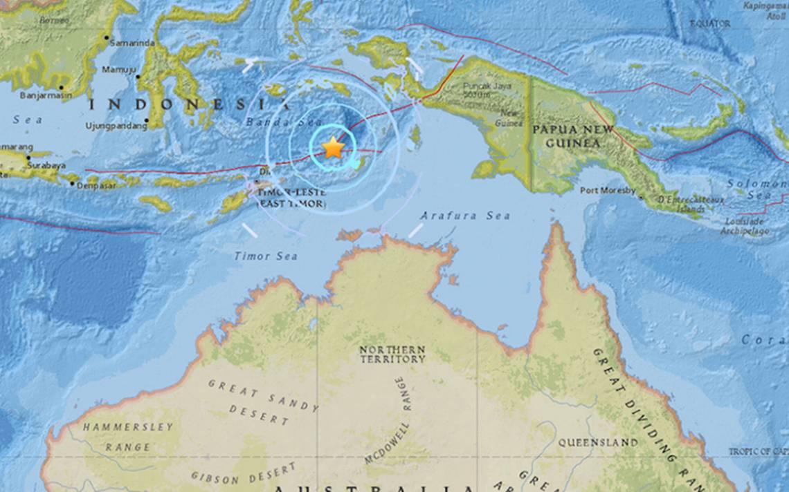 Levantan alerta de tsunami tras sismo de 6.4 en costas de Indonesia