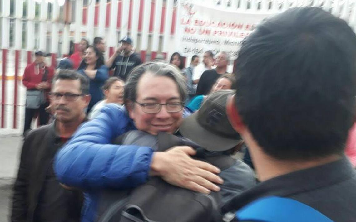 Liberan a El Mosh y cinco profesores que estaban detenidos