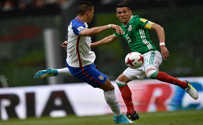 México y Estados Unidos no se doblegan; empatan 1-1  en el Azteca