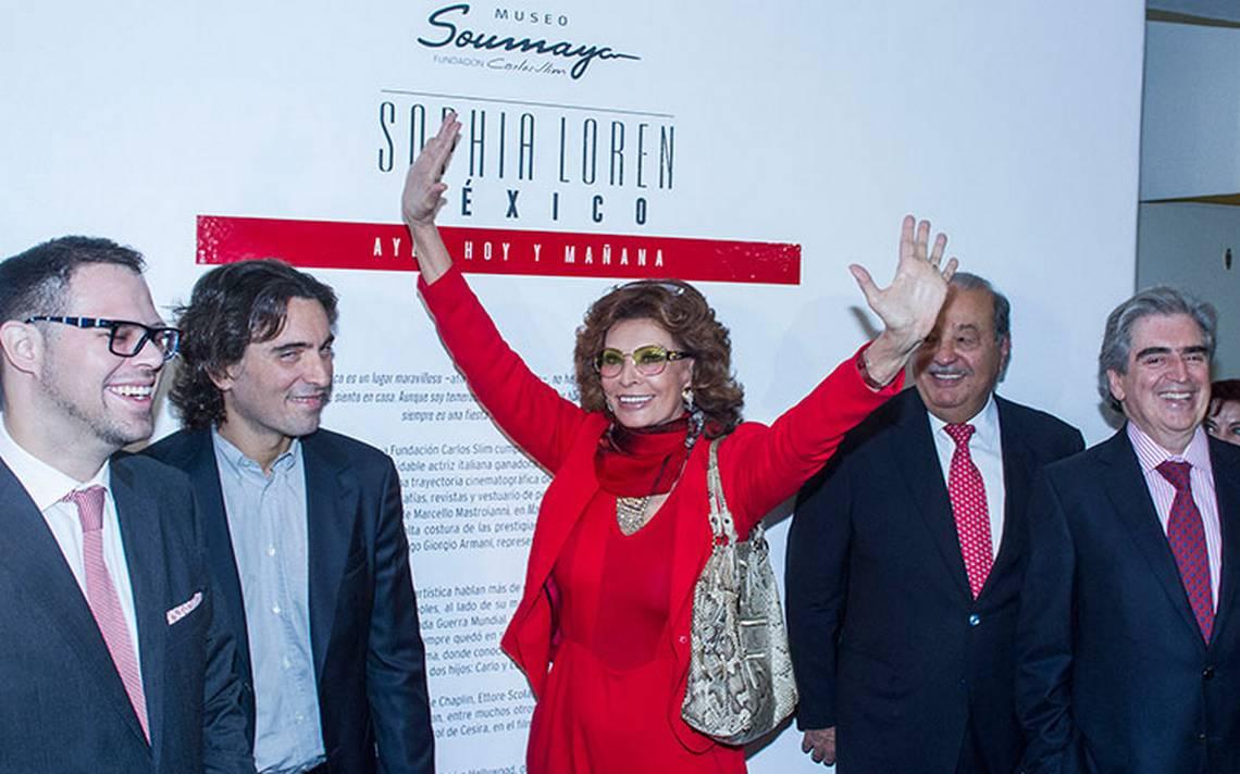 Sophia Loren, invitada de honor del desfile de Dolce & Gabbana en México