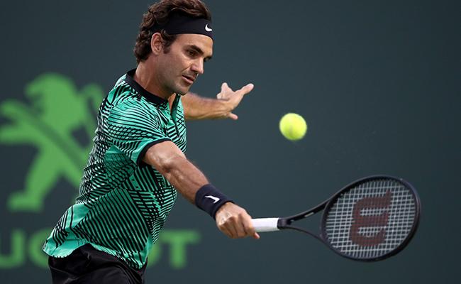 Roger Federer  buscará ganarle a Nick Kyrgios en el Masters 1000 de Miami