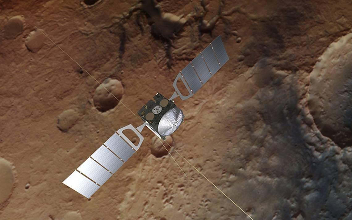Bajo capa de hielo, descubren ¡un lago de agua salada en Marte!