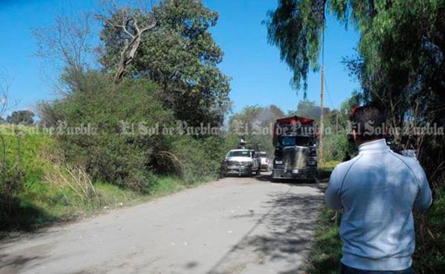 Se enfrentan huachicoleros y Gendarmeria en Puebla