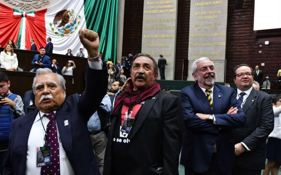 Piden a diputados reabrir investigaciones en contra de genocidas del 68