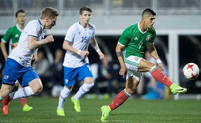 Gol de Pulido da victoria al Tri: México ?? 1-0 ??Islandia