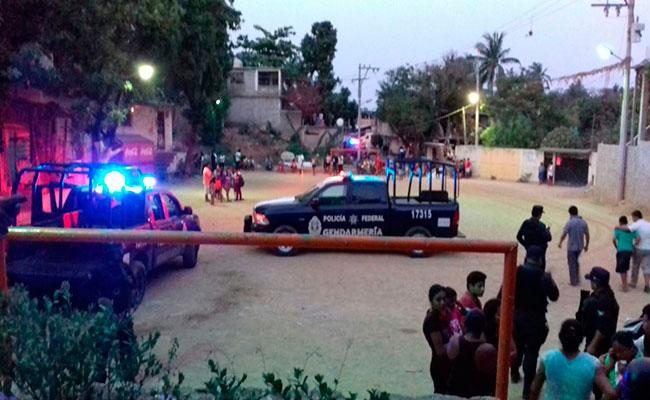 Atacan a jugadores en cancha de futbol de Guerrero
