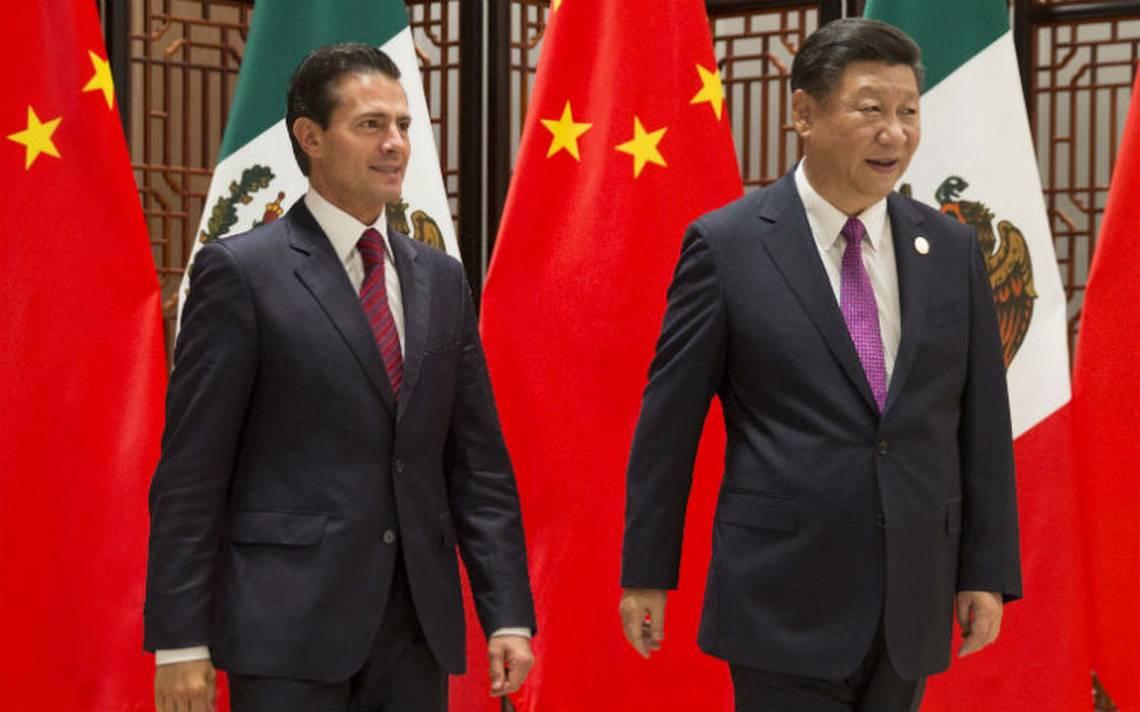 Peña Nieto se reúne con su homólogo Xi Jinping, dialogan sobre comercio, inversión y turismo