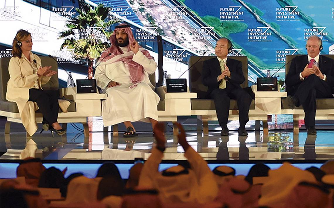 Heredero promete una Arabia Saudita moderada y tolerante