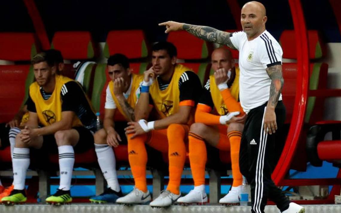 ¿Sampaoli para sustituir a Osorio al mando del Tri?