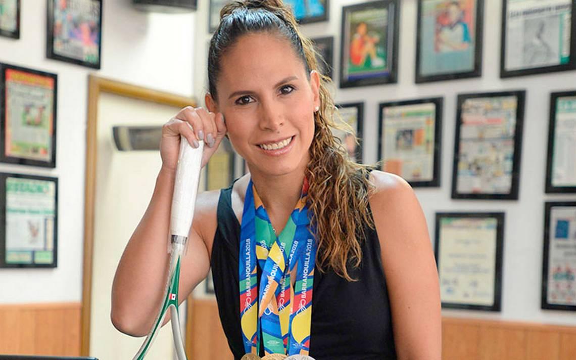 Samantha Terán consiguió tres medallas en squash