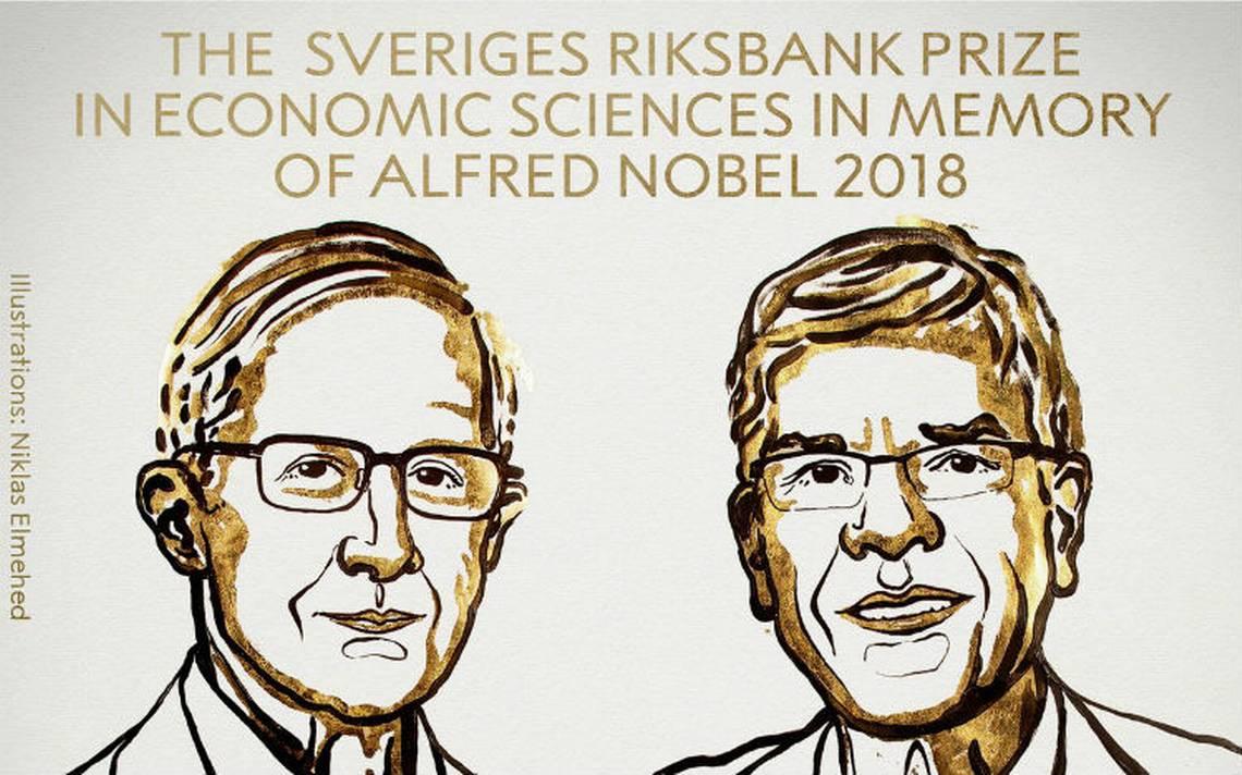 Nobel de Economía para estadounidenses Nordhaus y Romer por trabajos en clima