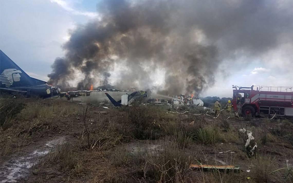 Esta es la causa del accidente del avión de Aeroméxico en Durango