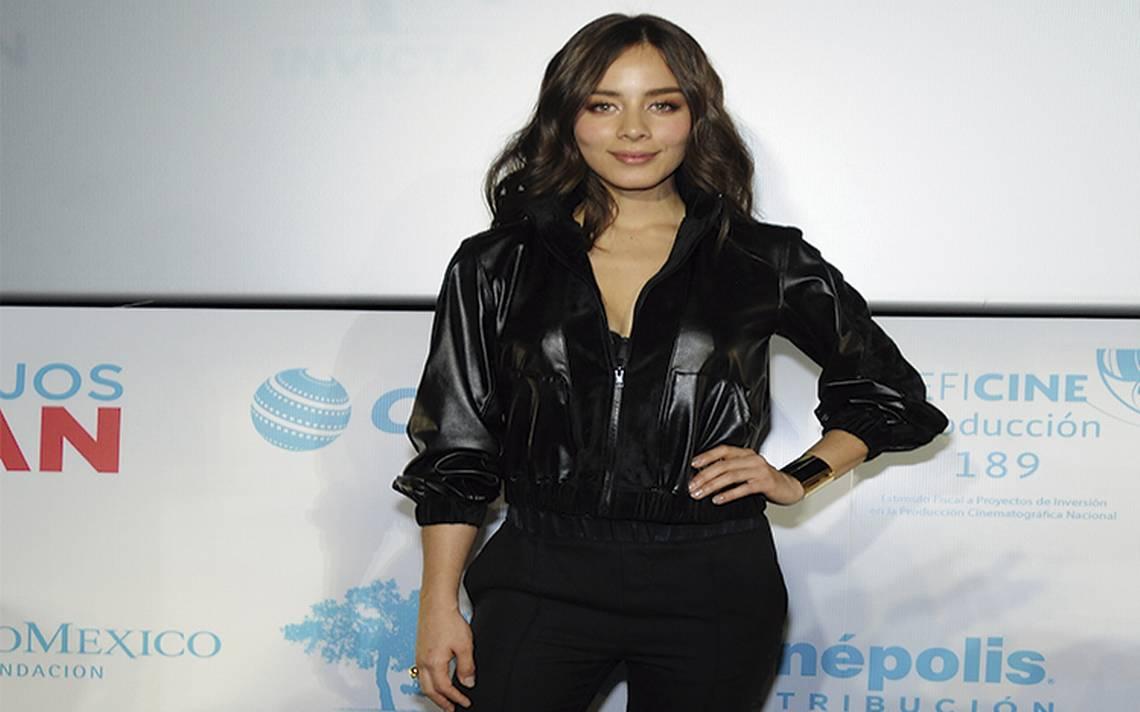 Esmeralda Pimentel orgullosa de formar parte de la industria del cine
