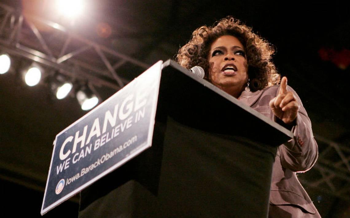 Oprah Winfrey niega estar interesada en buscar la presidencia de EU